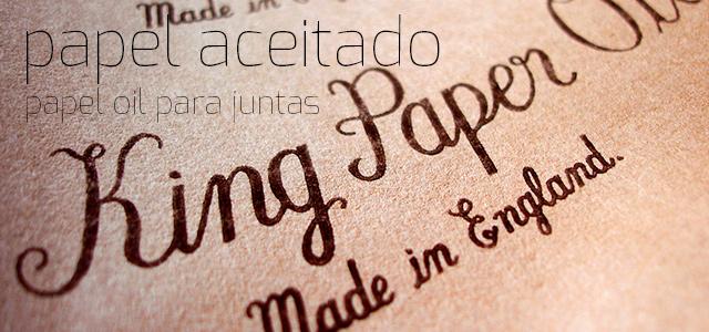 Papel Aceitado King Paper Oil®